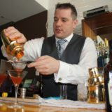 Cherry Heering Jamie Boudreau strainingall drinks courtesy CH