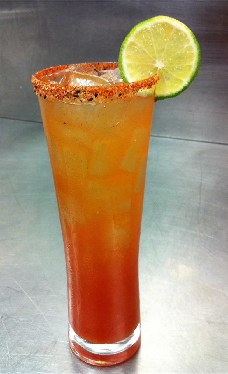 ... OF THE BORDER BEVERAGE INSPIRATION » Michelada by Charles Steadman