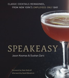 Speakeasy book by Dushan and Jason cover shot