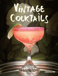 Vintage Cocktails book cover straight on