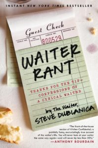 Waiter Rant book cover shot