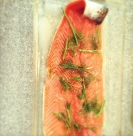 Swedish Culinary Summer by Xante Gravlax filet prep