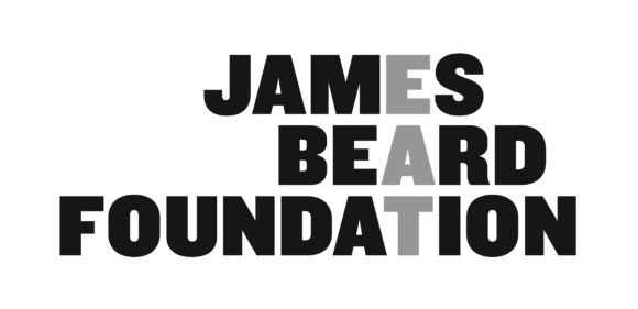 James Beard Foundation Logo in Greyscale